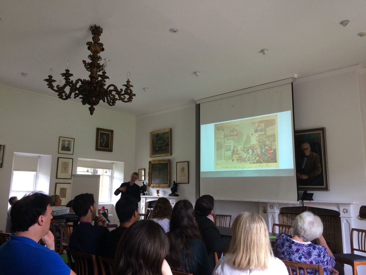 History Teachers Conference at Magdalen College.