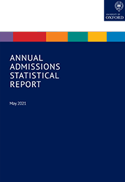 Annual Admissions Statistical Report 2021