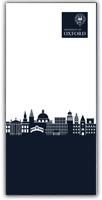 Blue skyline notepad image