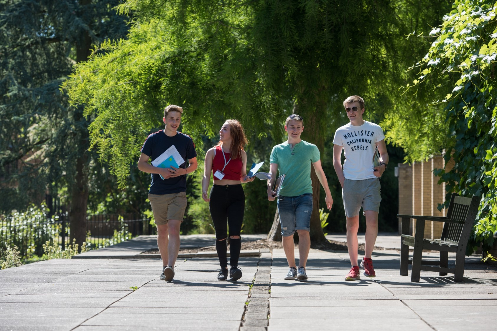 Students. Image by John Cairns Photography