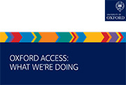 Oxford Access: What we're doing
