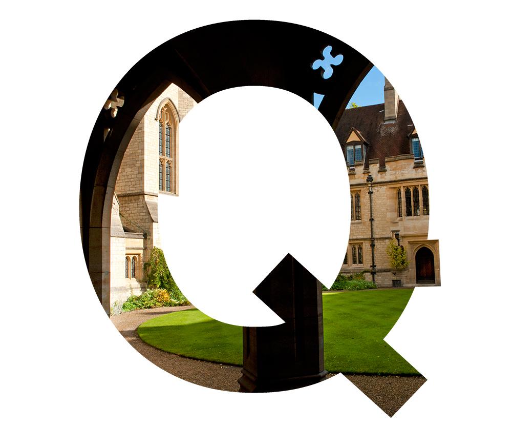 Q is for quadrangles