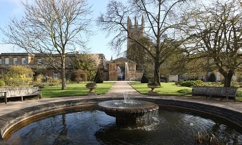 Botanic gardens fountain