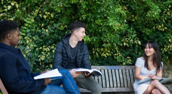 Trinity College Students