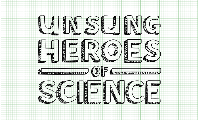 Unsung Heroes of Science logo