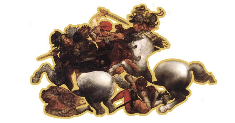 da Vinci's The Battle of Anghiari