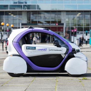 Flashback: Self-driving vehicle trialled in UK public space for the first time