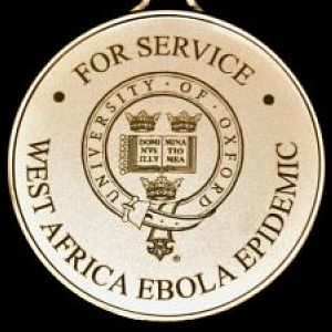 Ebola medals for research team