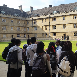 Target Oxbridge students enjoy three-day visit to Oxford