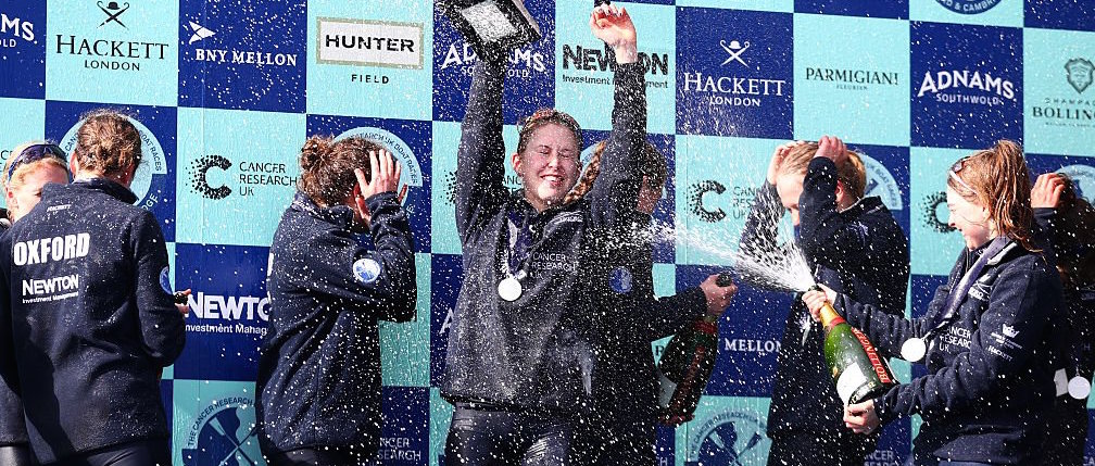 Women power to Boat Race victory in tough conditions