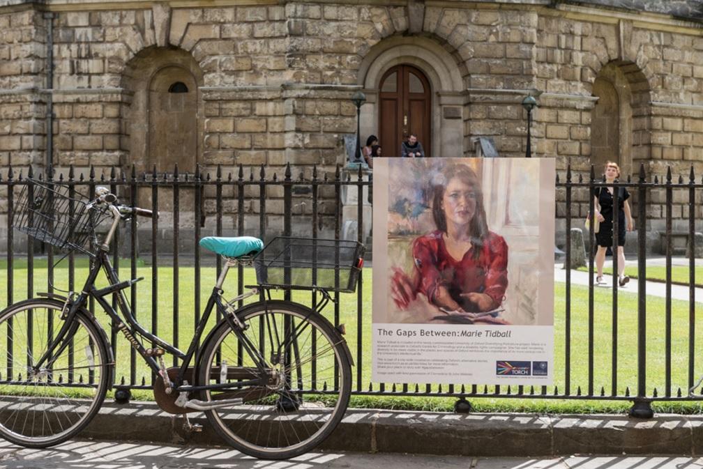 Public art installation tells Oxford's alternative stories