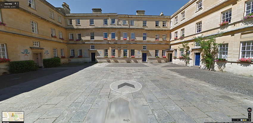 Google Street View goes behind scenes of Oxford colleges