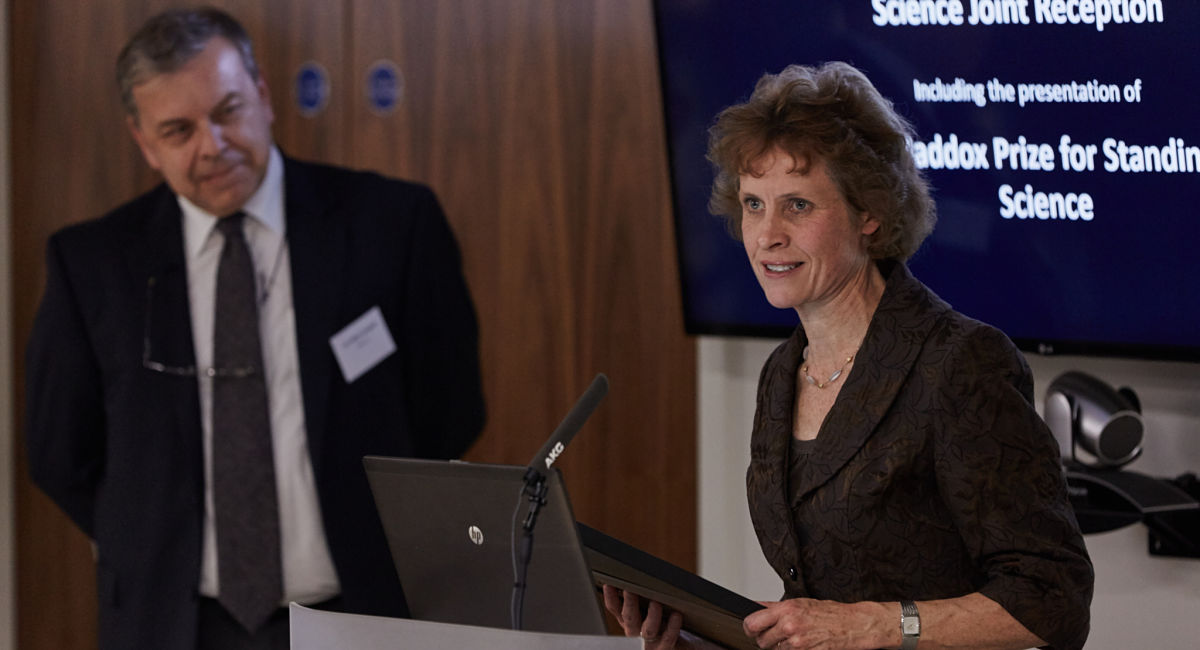 Scientist awarded the 2015 John Maddox Prize for Standing up for Science