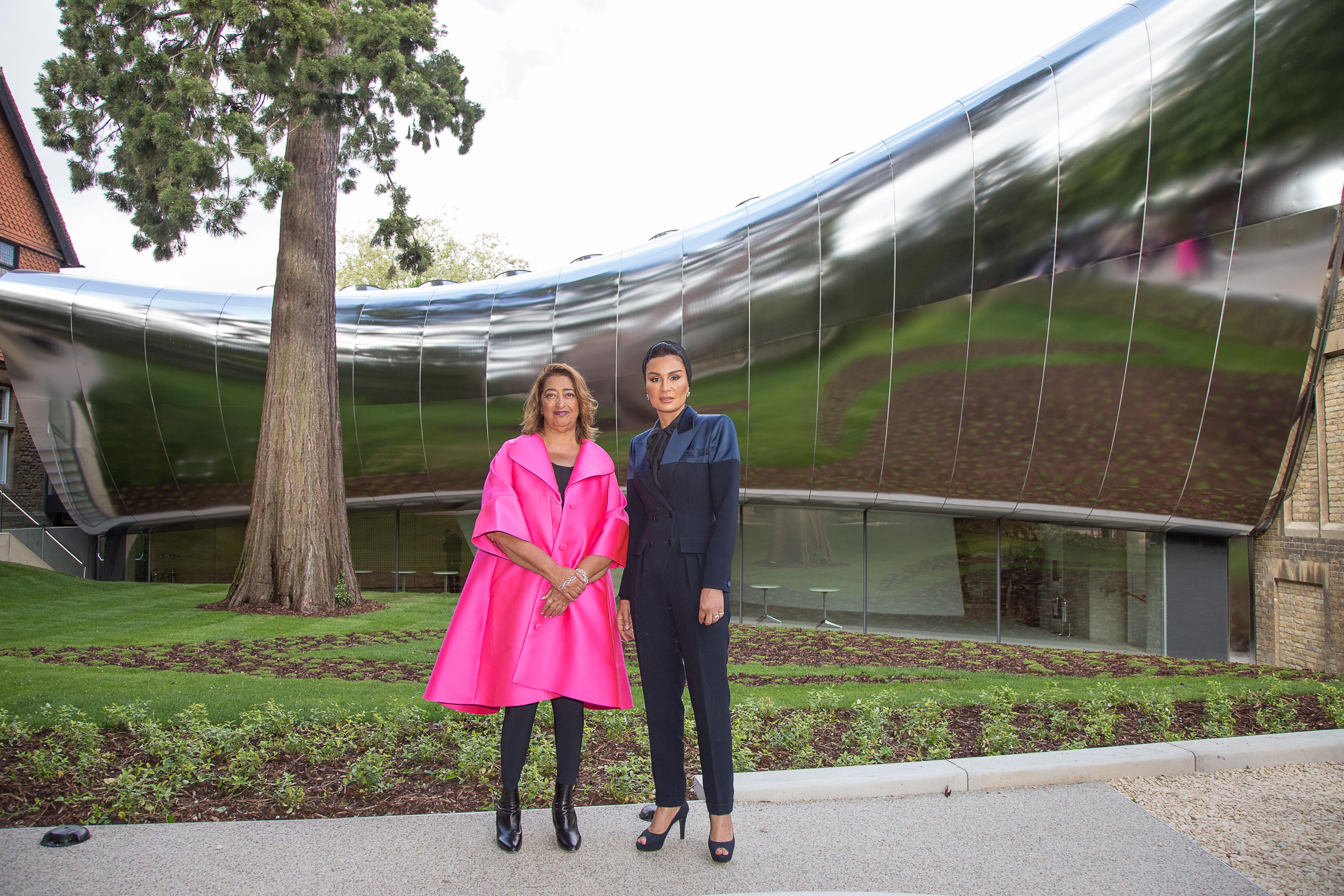 New building by Zaha Hadid unveiled at Middle East Centre ... on zaha hadid port house, old house, rem koolhaas house, zaha hadid california house, china house, zaha hadid opera house,