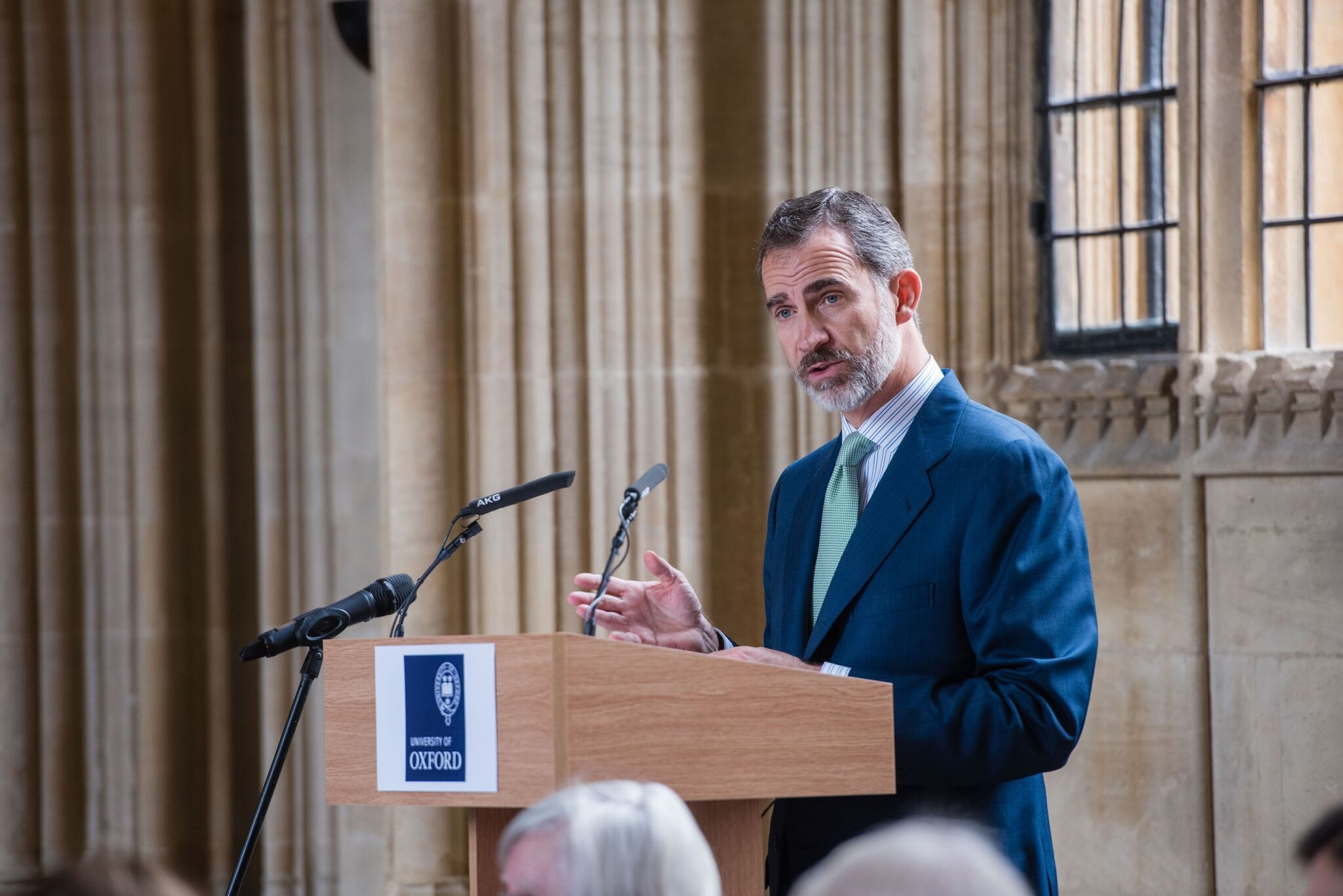 King and Queen of Spain visit Oxford