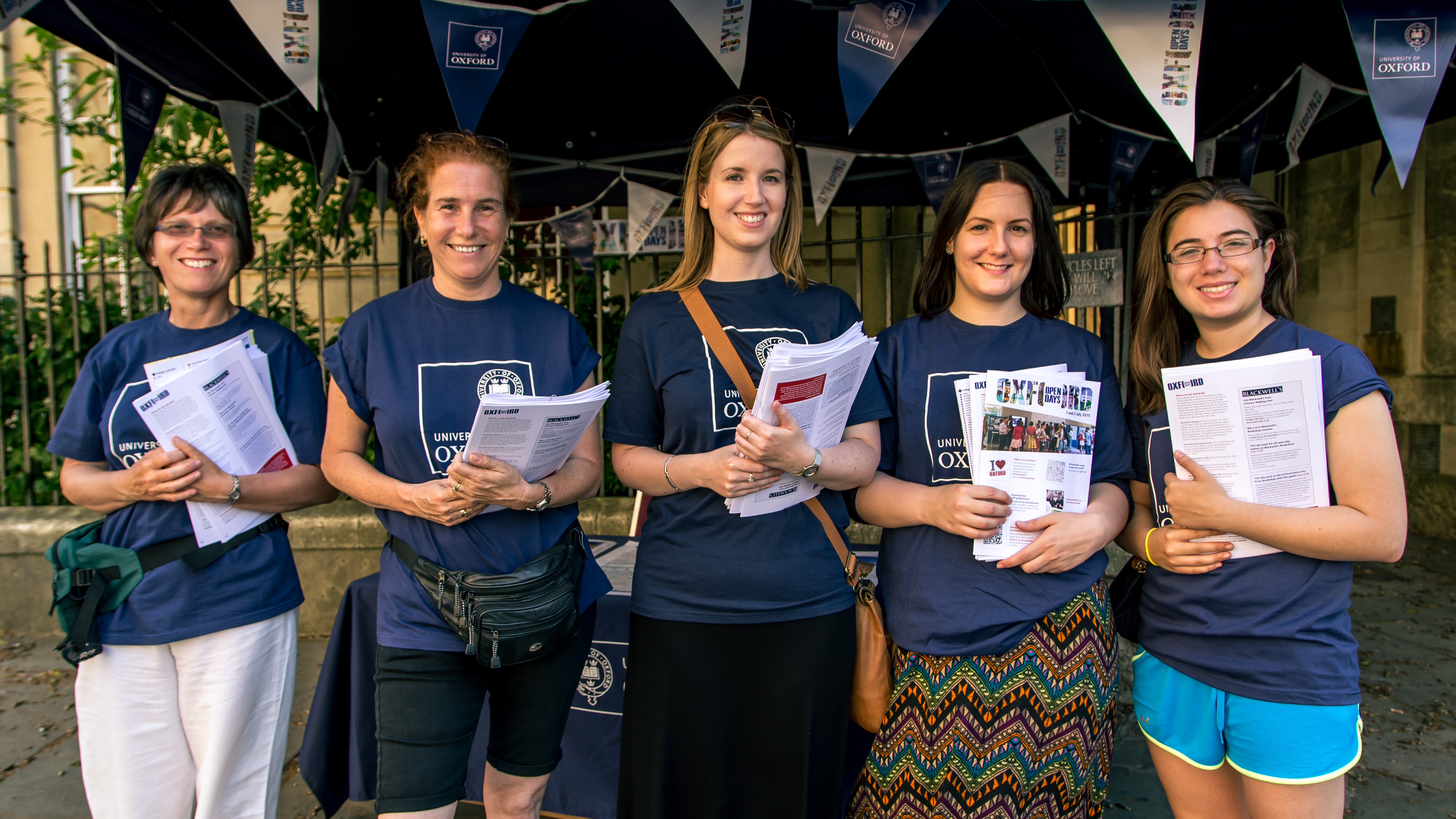 Undergraduate Open Days give visitors a taste of life at Oxford