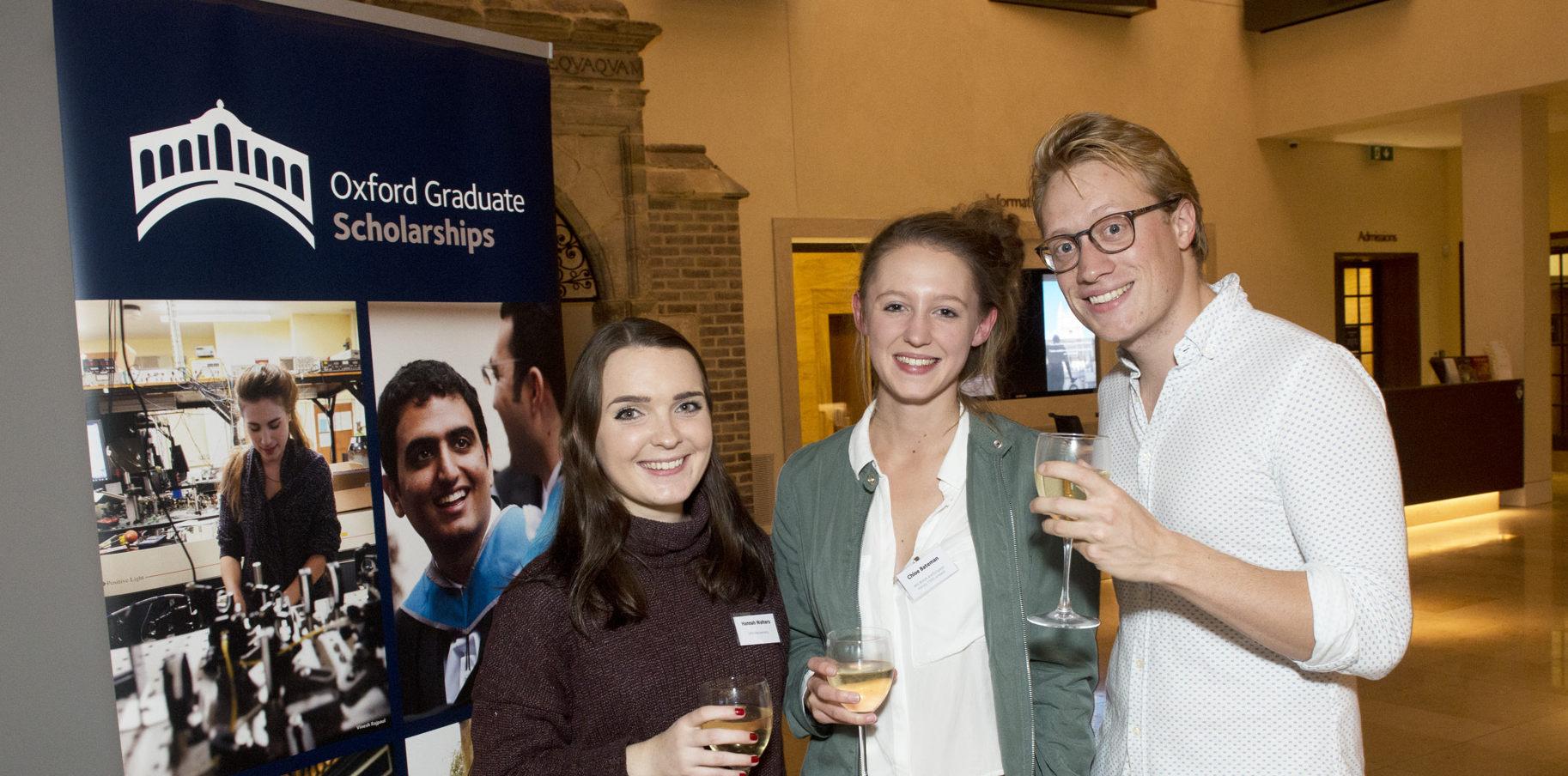 Celebration marks postgraduate scholarship fundraising progress