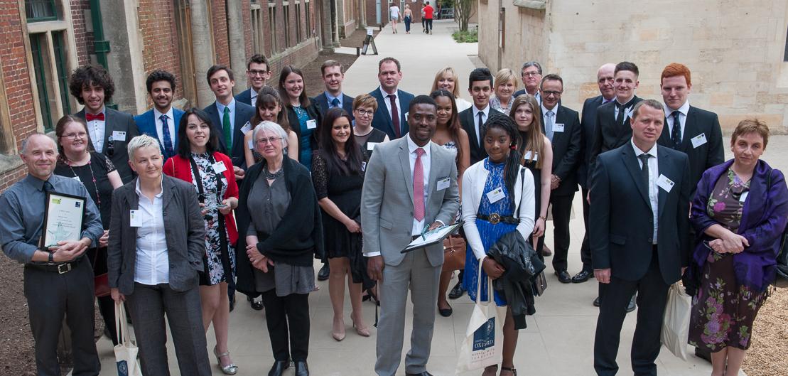 Inspiring state school teachers honoured by Oxford