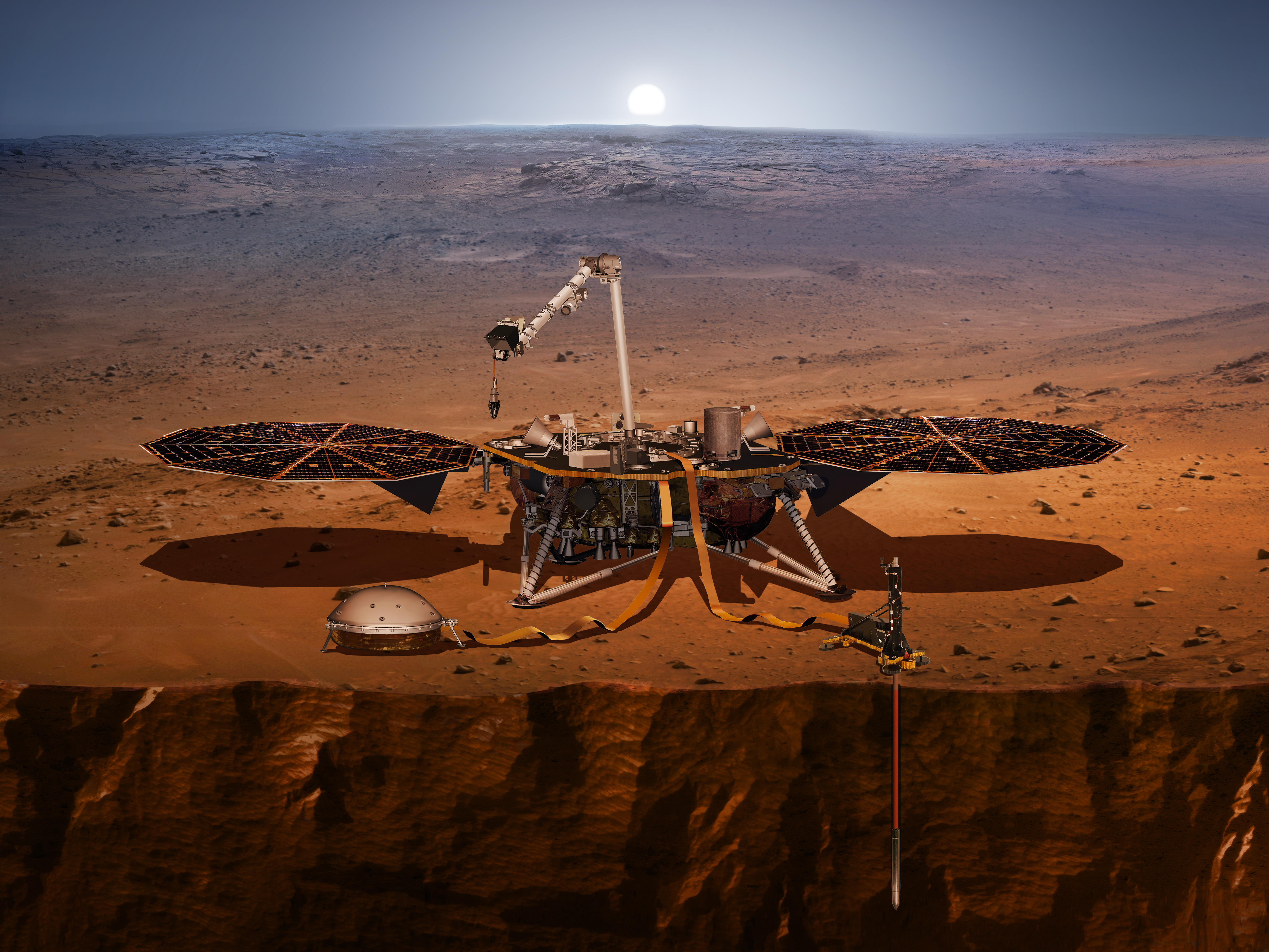 Measuring earthquakes on Mars