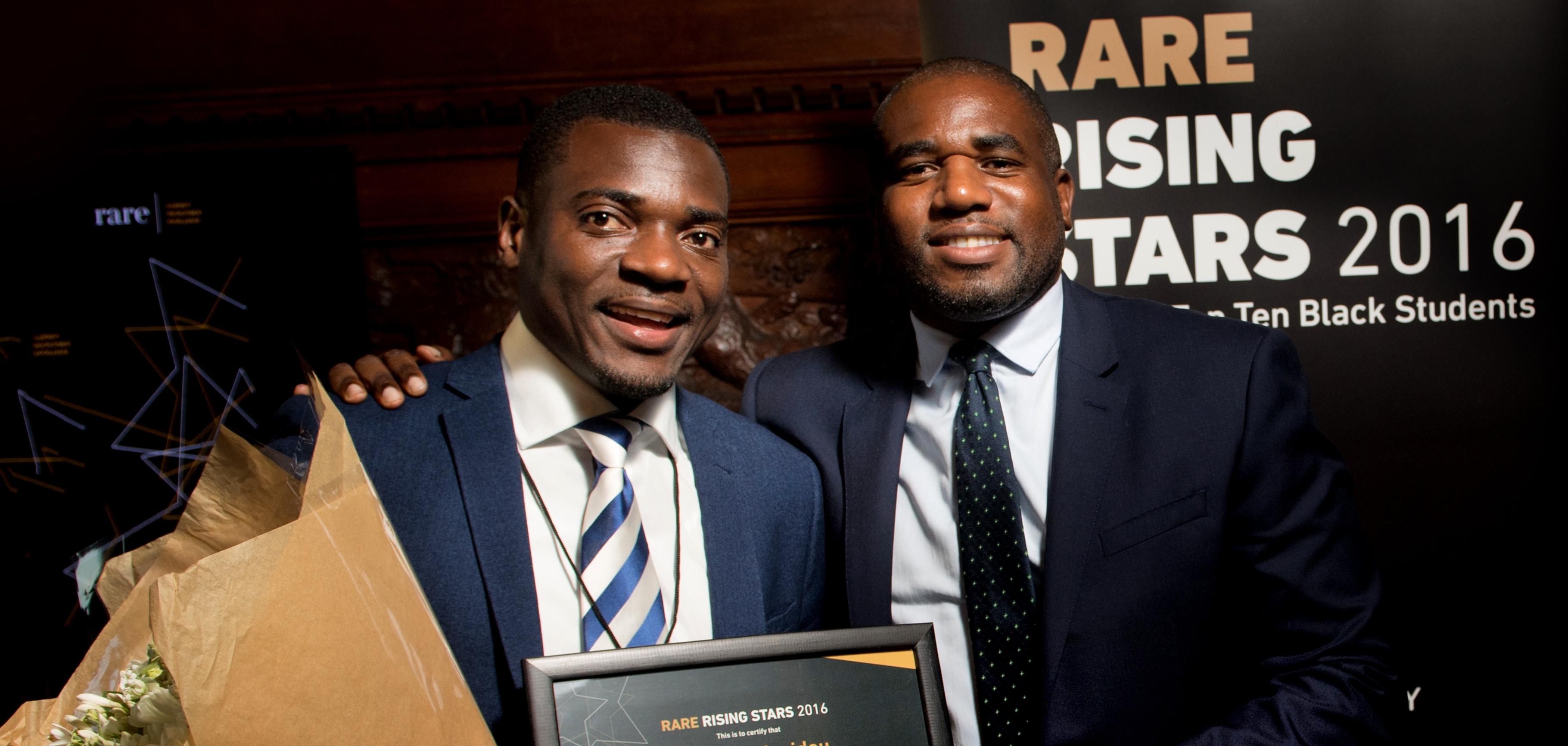 Oxford postgraduate named 'Britain's top black student'