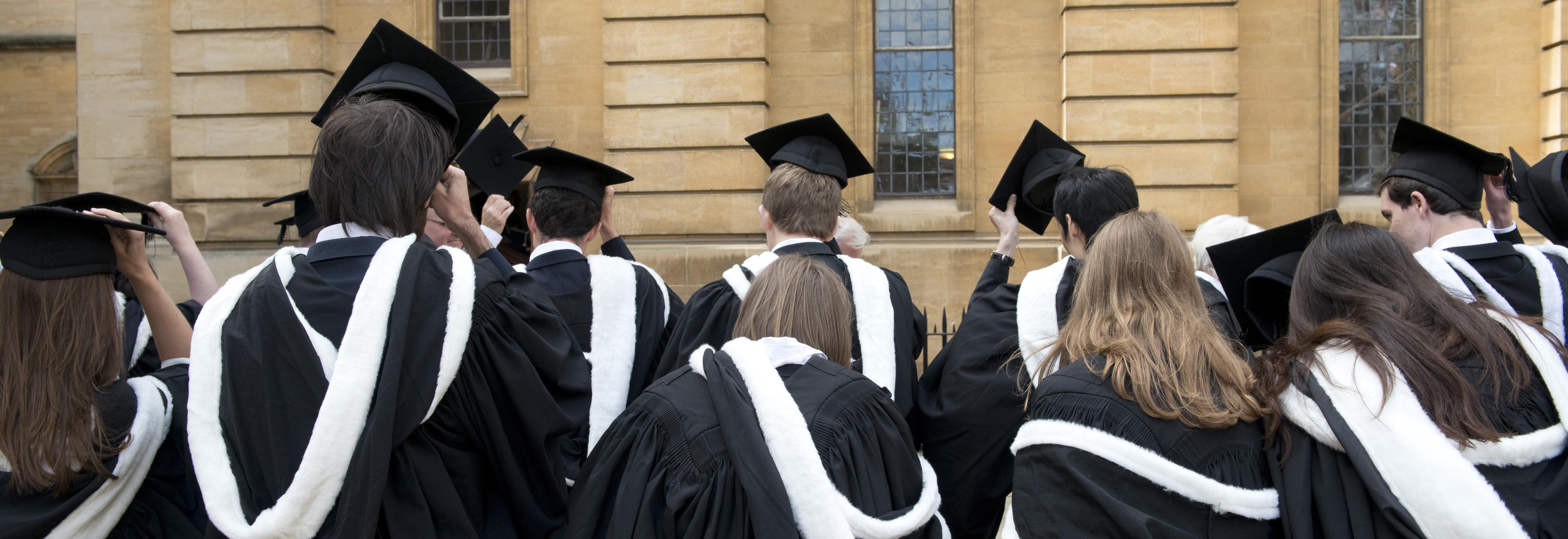 Degree ceremonies   University of Oxford