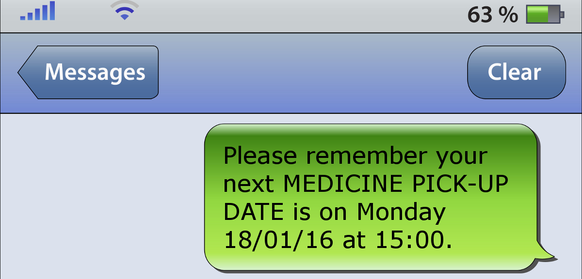 Text messages can help reduce blood pressure