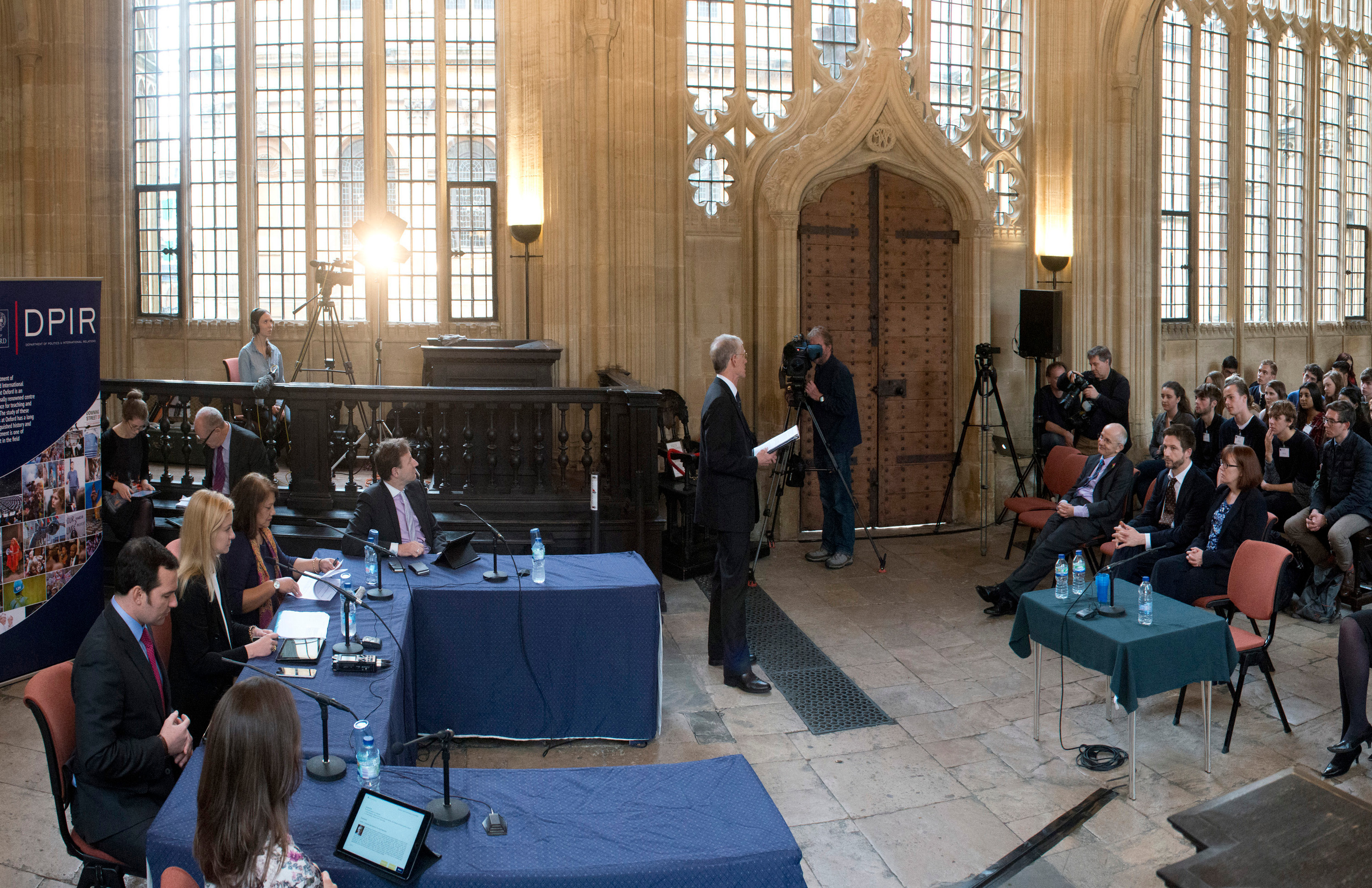 Parliament meets in Oxford for the first time in 350 years