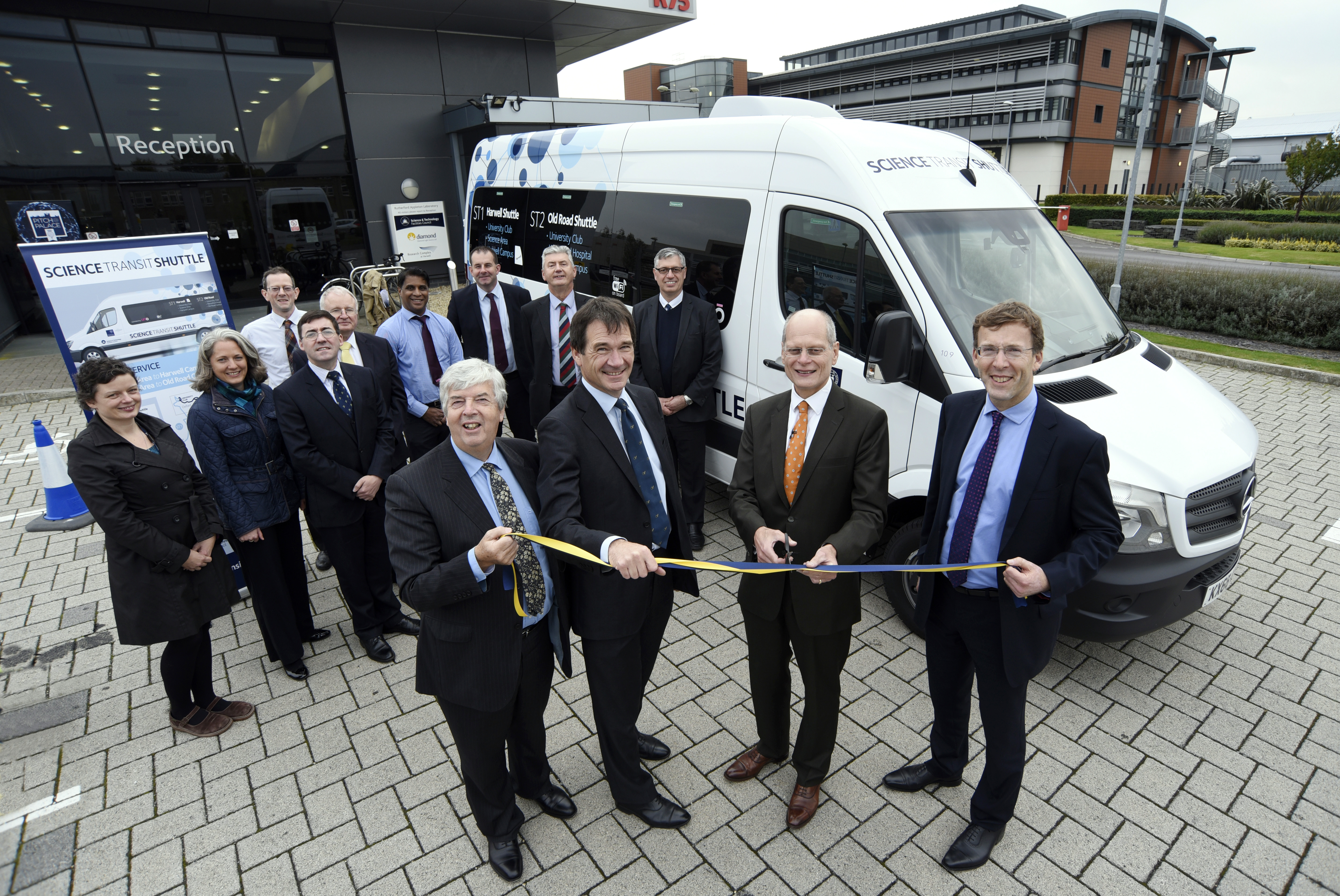 Science Transit Shuttle bus service officially launched