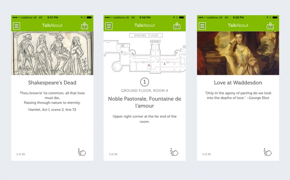 Tour guide app now available in Oxford exhibitions