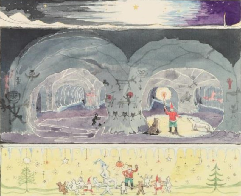 Tolkien's magical letters and illustrations bring Father Christmas to life