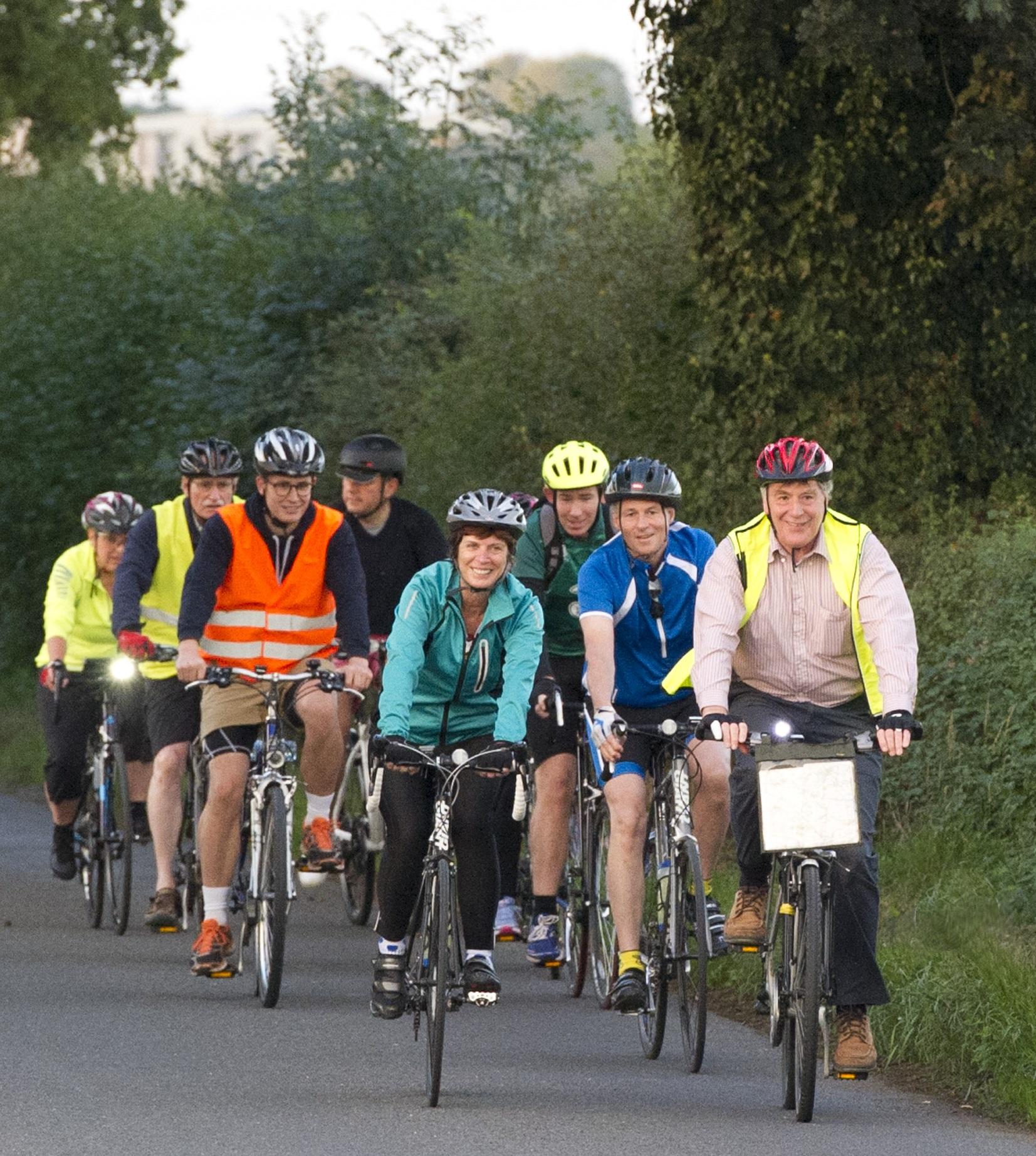 Cyclists ride to Cambridge to raise £1m for student support