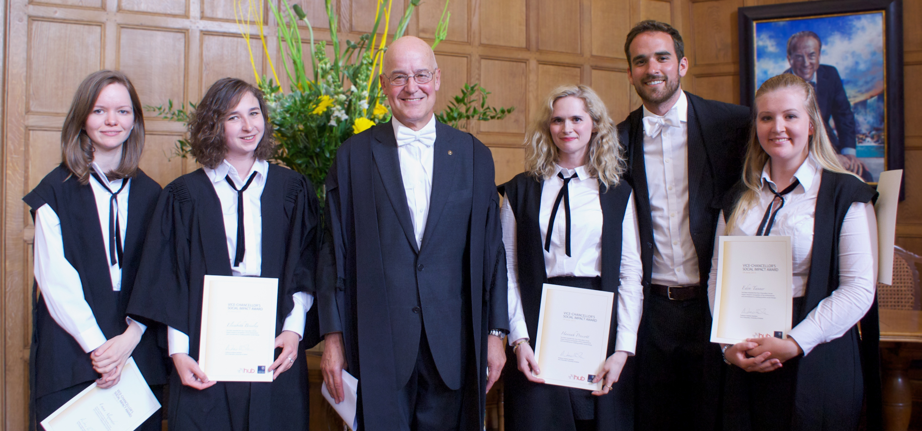 Five Oxford students receive Vice-Chancellor's Social Impact Awards