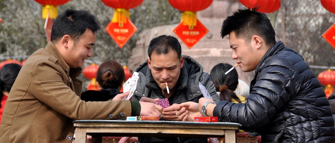 Smoking set to kill one in three young men in China