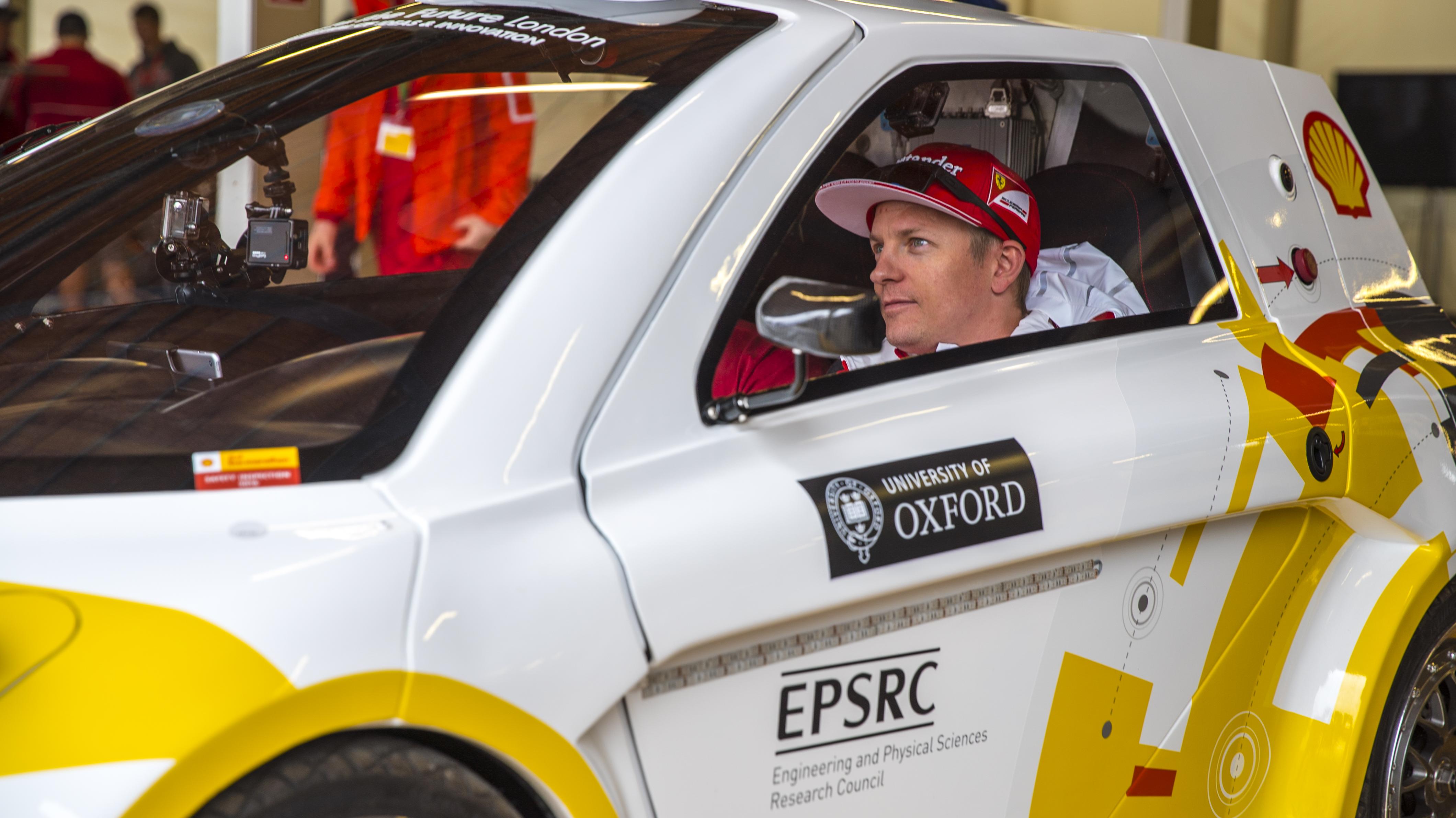 Oxford's autonomous vehicle technology showcased at Shell Eco-marathon