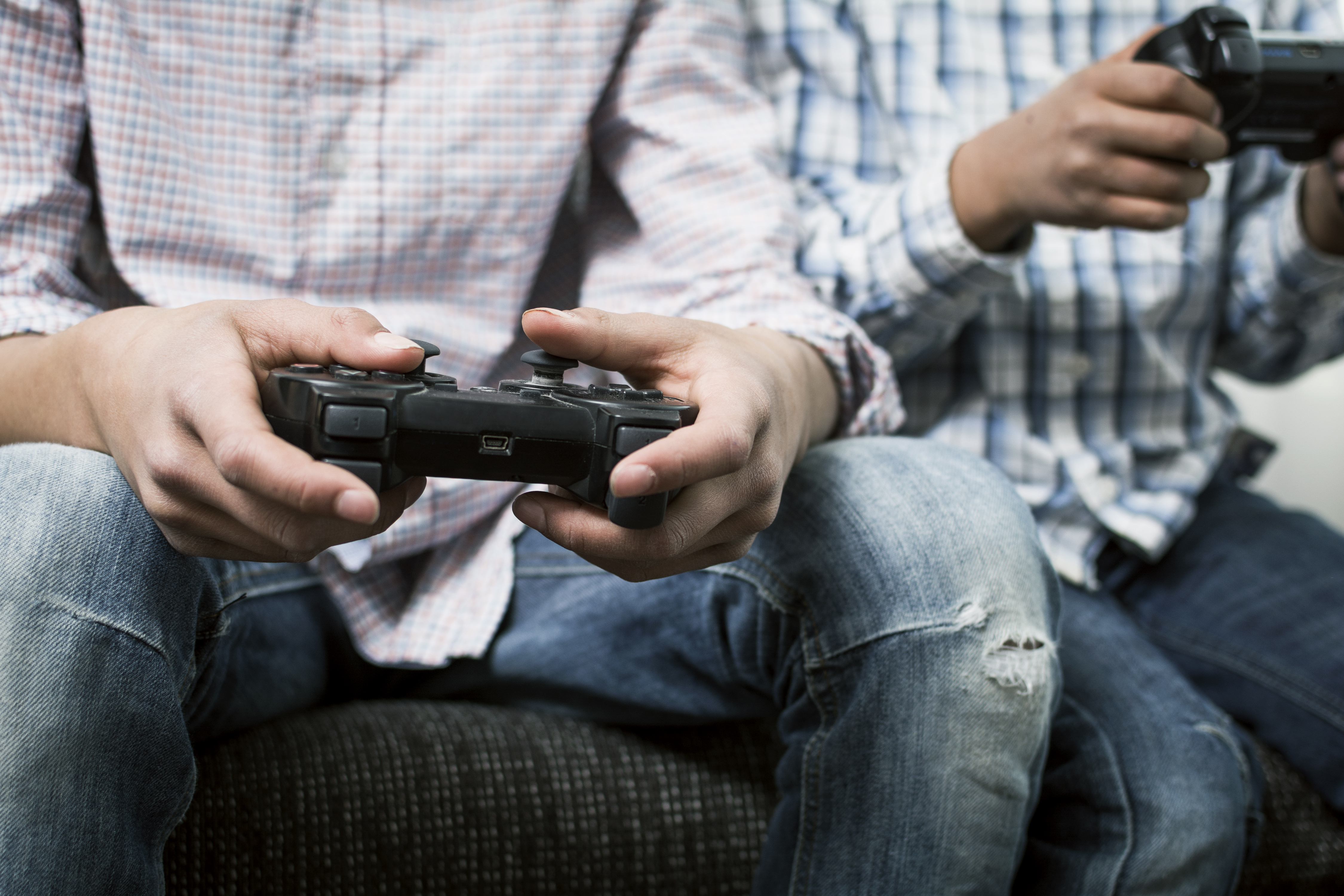 Poor behaviour linked to time spent gaming not types of games
