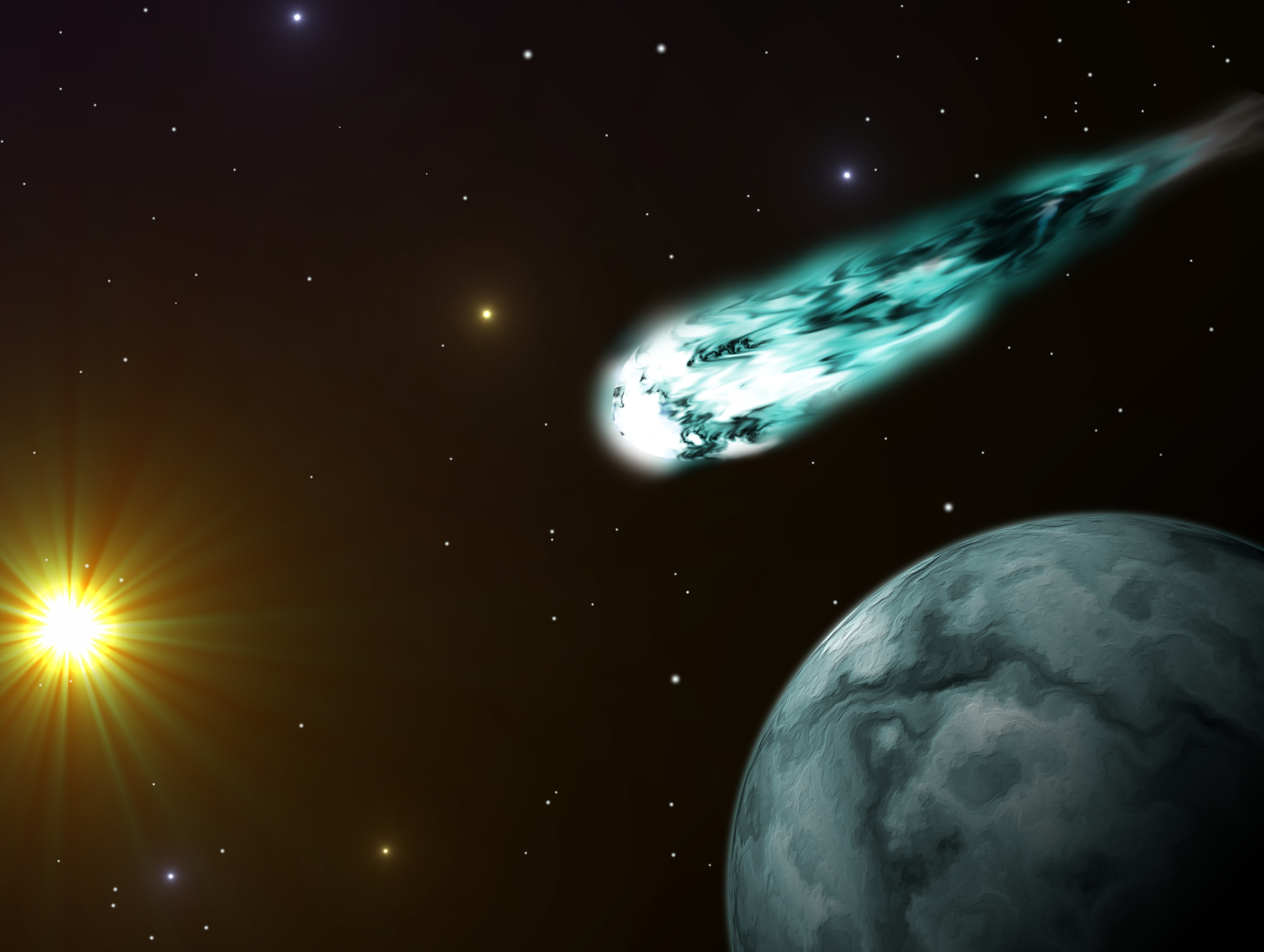 Scientists solve mystery of why comets emit X-rays