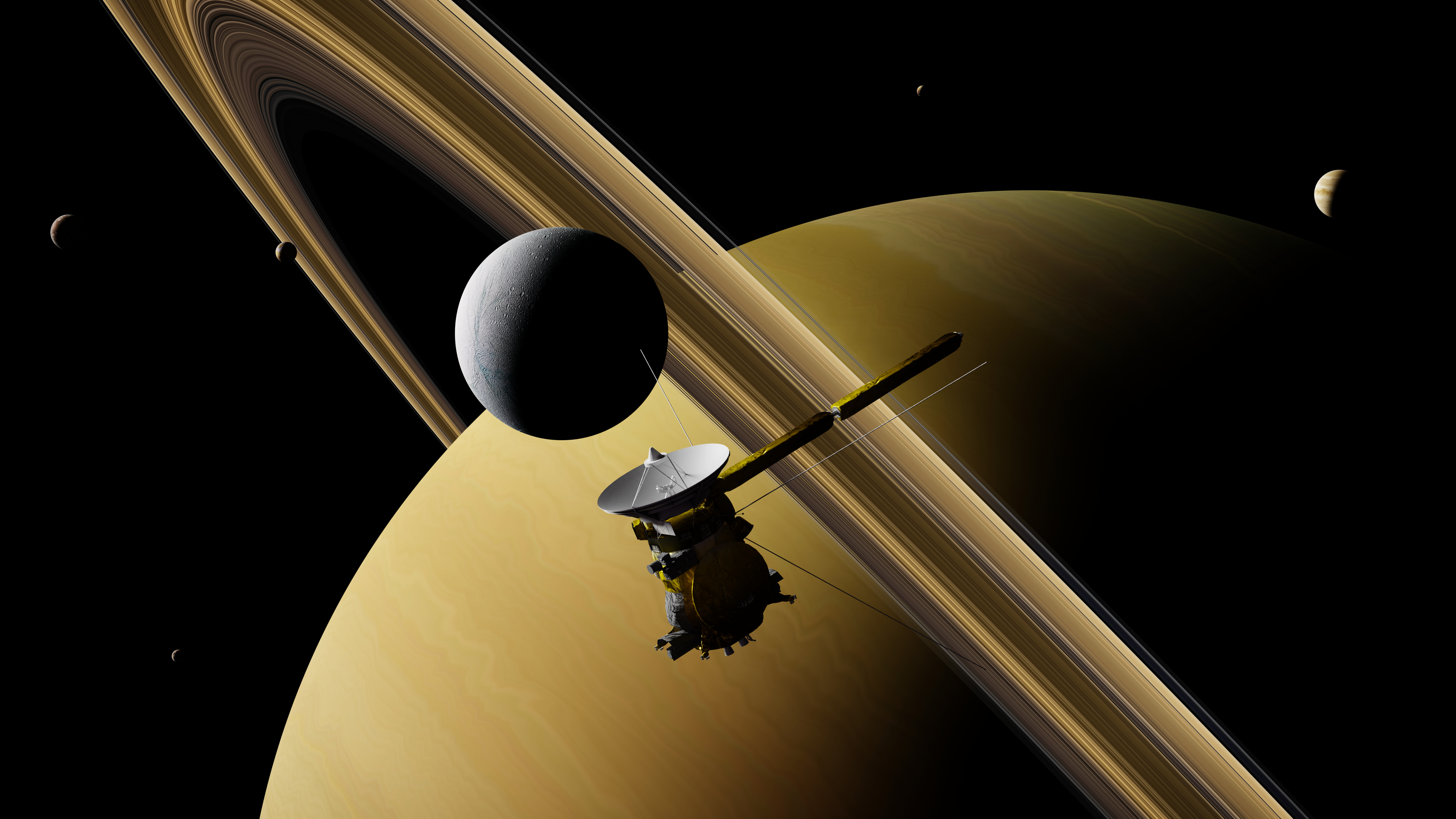 Oxford reflects fondly on Cassini as the end draws near
