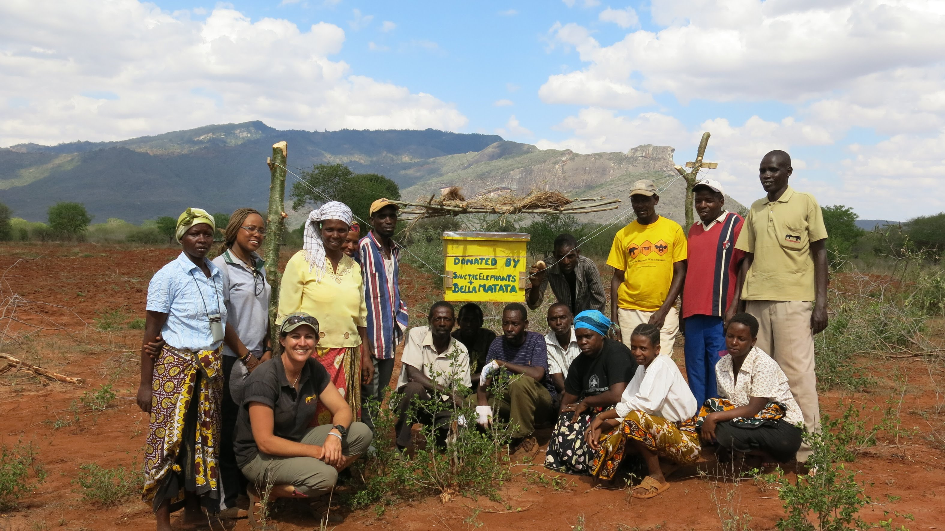 African honey bees change lives and save elephants
