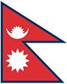 Nepal flag small