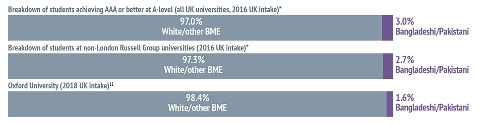 UK-domiciled Bangladeshi and Pakistani students