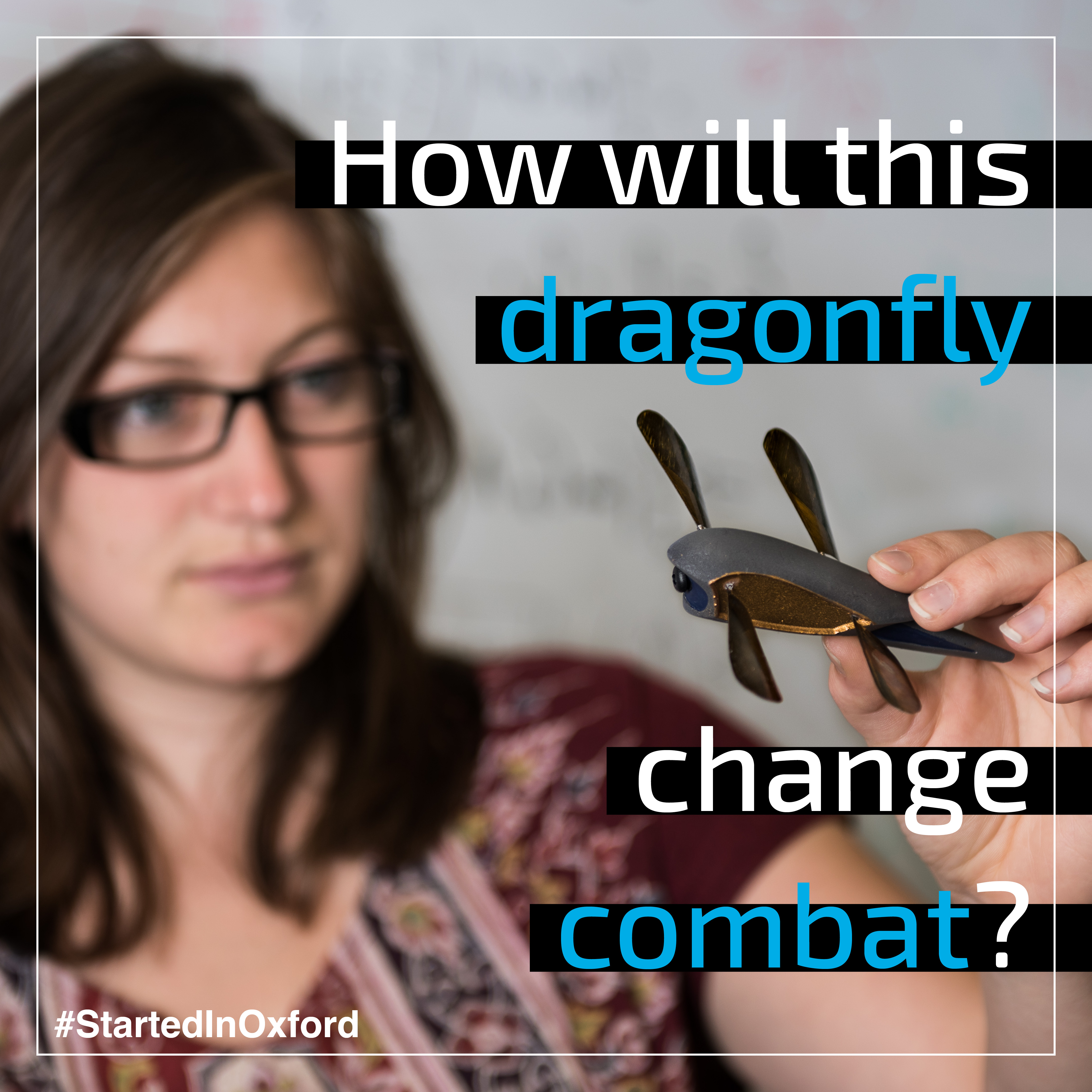 How will this dragonfly change combat