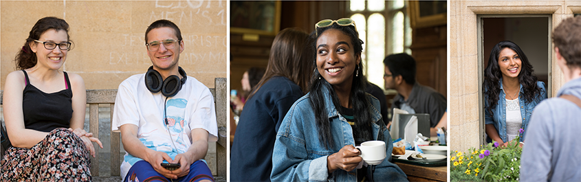 Students at Brasenose College