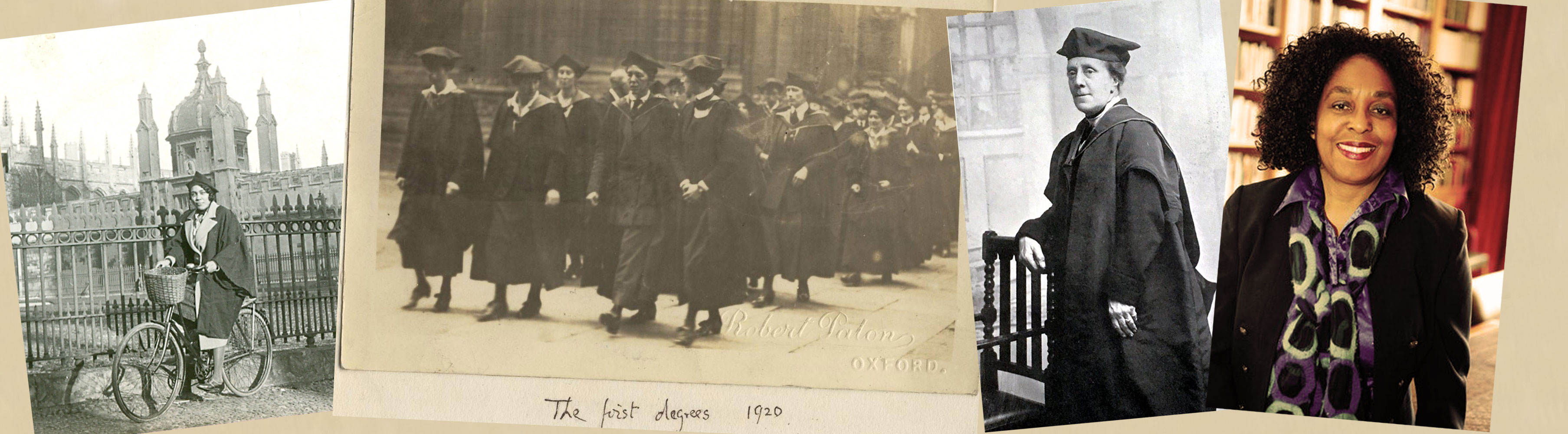 Timeline, 100 years of women's history at Oxford