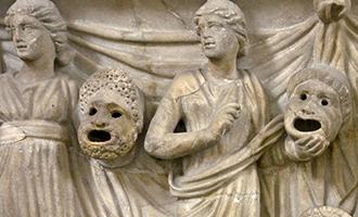 Greek carving