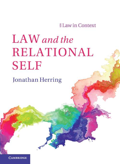 Law and the Relational Self book cover