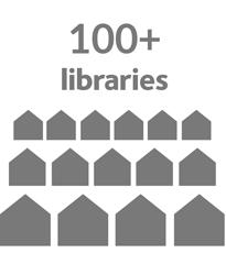 100 plus libraries