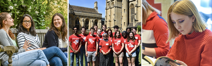 Students at Mansfield College