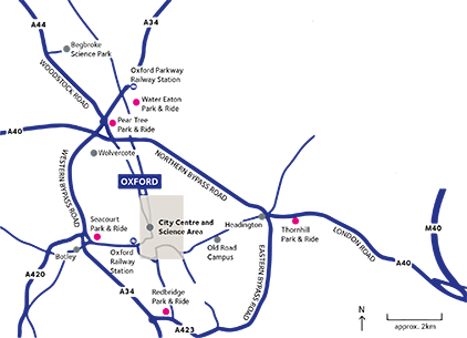 Map London To Oxford.Travel Advice University Of Oxford