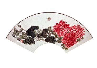 Qi Baishi (artist), 'Chrysanthemum and bee'