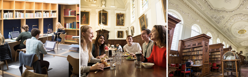 Students at The Queen's College